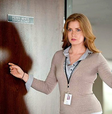 amy adams as lois lane man of steel