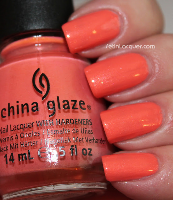 China Glaze Mimosas Before Manis