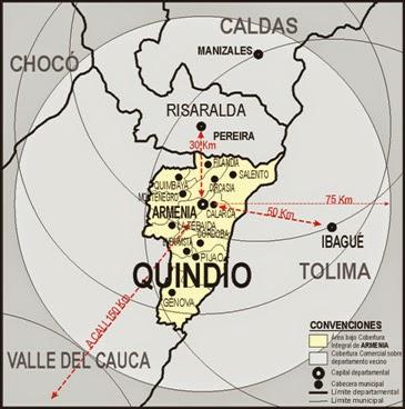Mirada geopolítica al Quindío colombiano