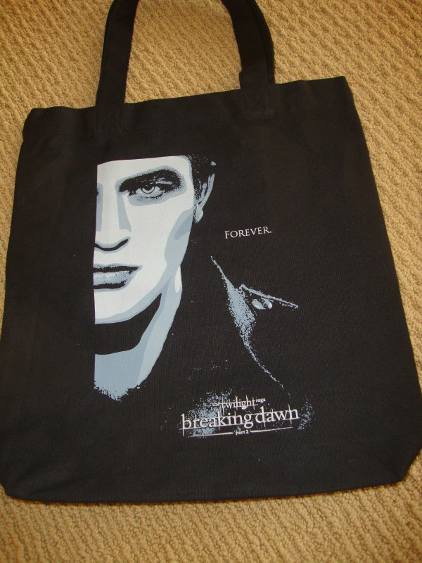 Twilight movie tote bag