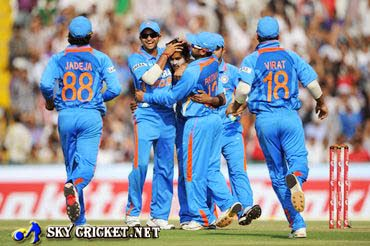 Team India lead 5 match odi series 3-0 against England