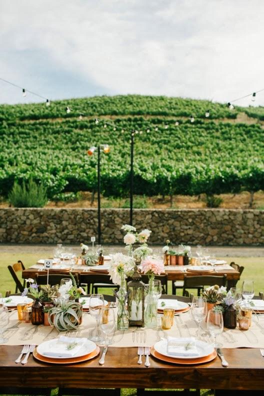 boda informal al aire libre