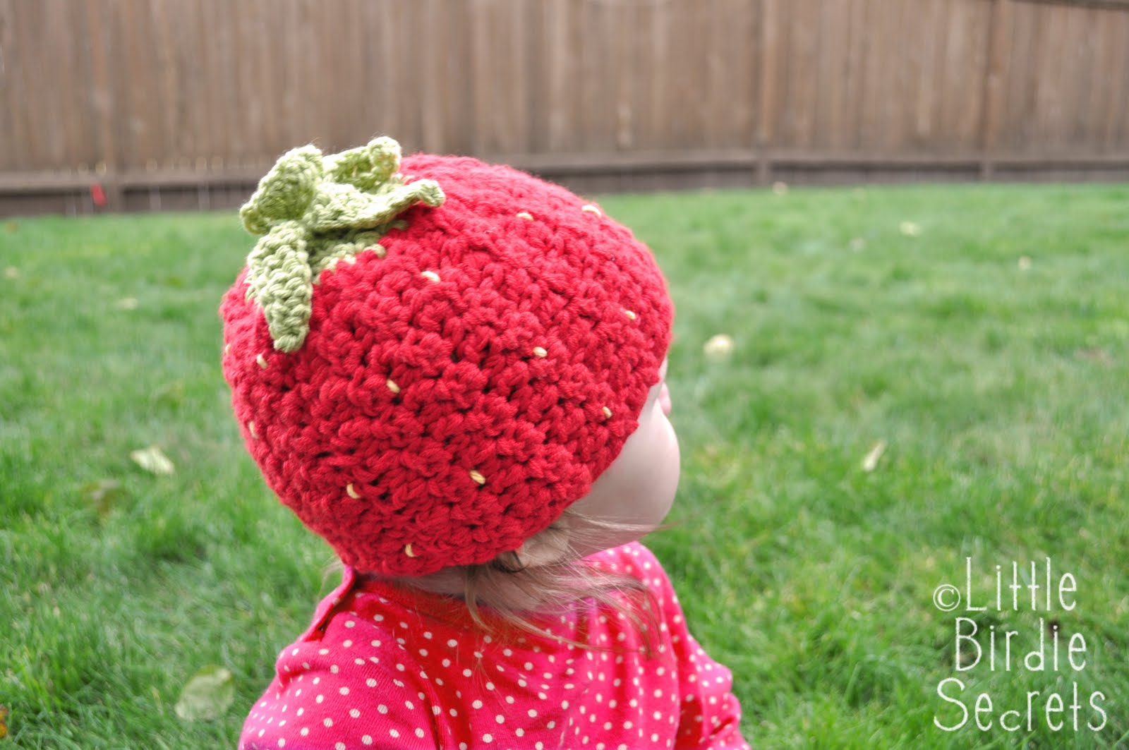 Strawberry Leaf Knitting Pattern : raspberry or strawberry free crochet pattern {and a ...