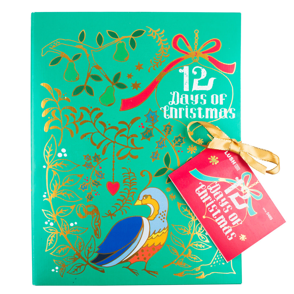 lush advent calendar beauty 2014 12 days of christmas story telling