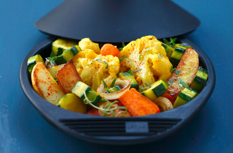 Cauliflower And Potato Tagine Recipe