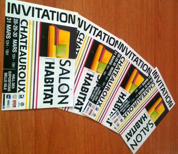 Invitations au Salon de l'Habitat de Châteauroux