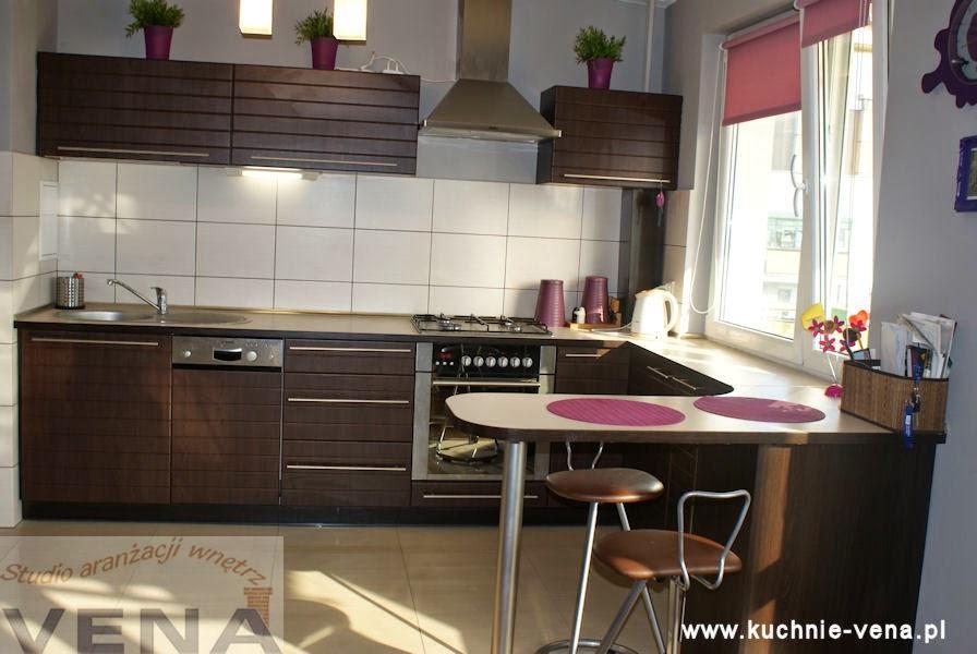 Meble kuchenne Lublin - Vena - Kuchnia drewnopodobna