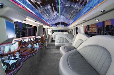 Hummer Limousine Interior