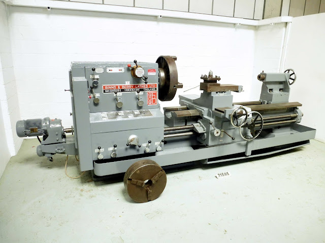 Used Binns & Berry Centre Lathe from Electro Motion