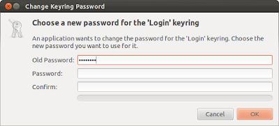 Change blank password