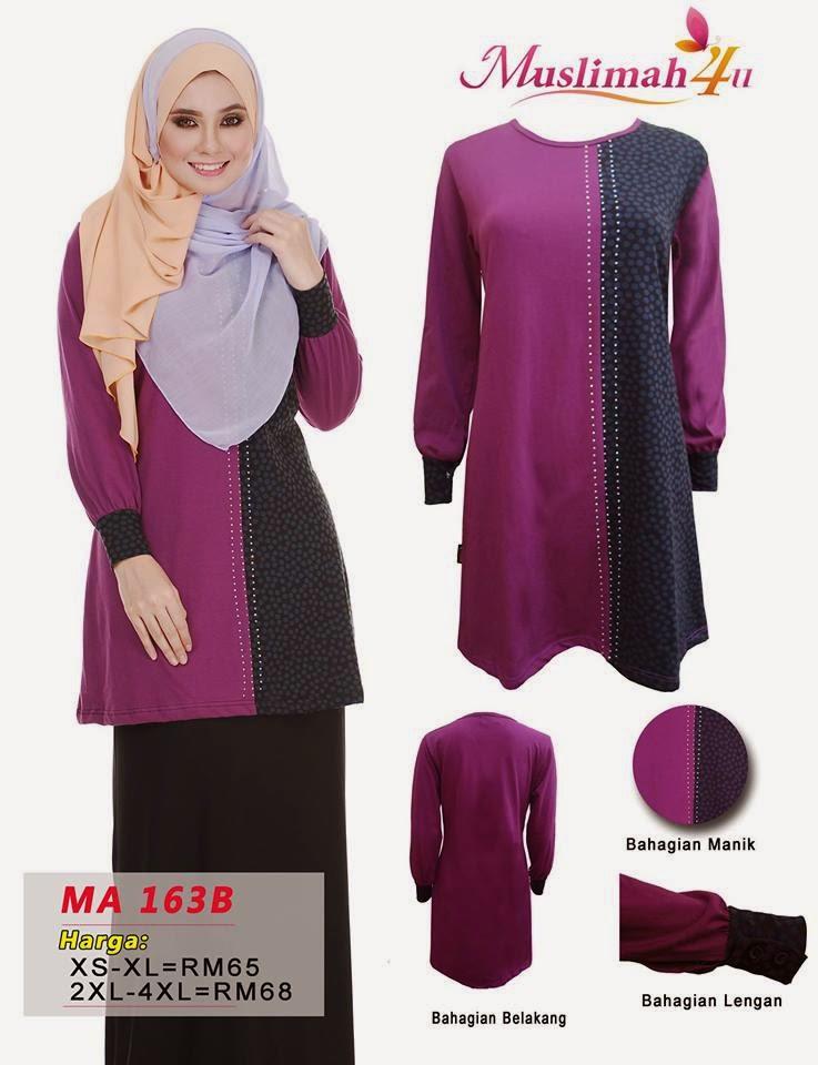 T-shirt-Muslimah4u-MA163B