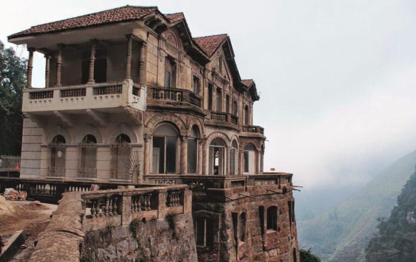 Destinos zona d la mansi n del salto del tequendama for Casa mansion bogota