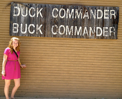 duck commander i think i was in absolute awe we love duck dynasty we