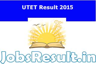 UTET Result 2015
