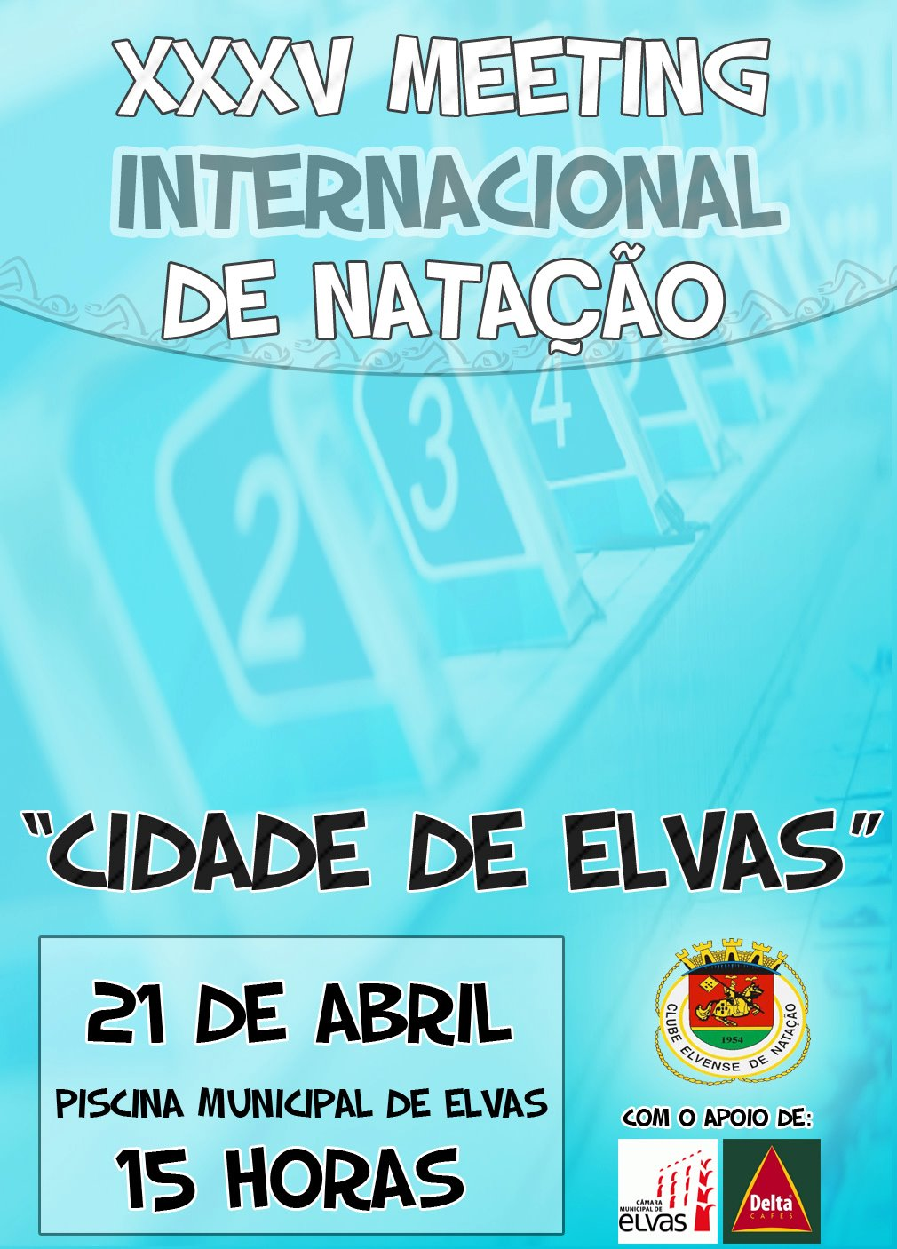 Cen xxxv meeting internacional de nata o cidade de elvas for Piscina elvas