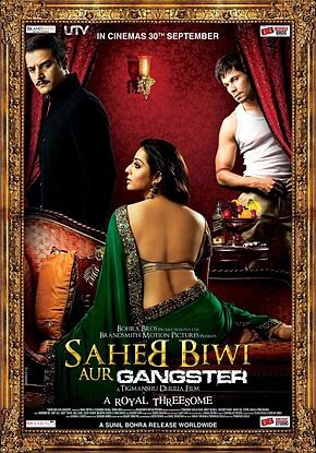 Saheb Biwi Aur Gangster 2011 Hindi DVDRip 480p 350mb