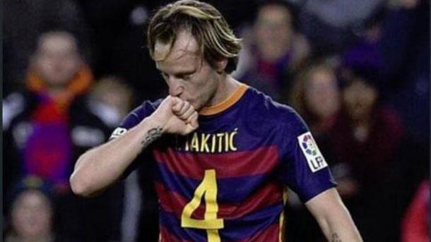 Rakitic obtuvo la recompensa del gol contra el Celta