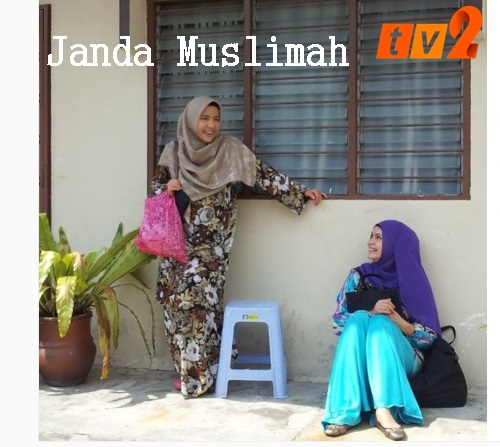 Sinopsis drama Janda Muslimah TV2 Galeri Famili, pelakon dan gambar drama Janda Muslimah TV2