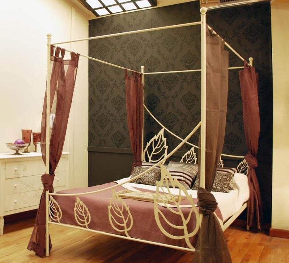 Interioresaescala camas con dosel - Dosel para cama ...