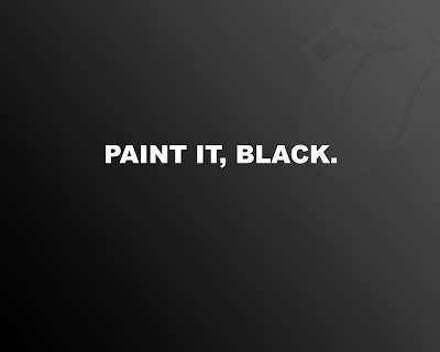 paint it black Wallpaper