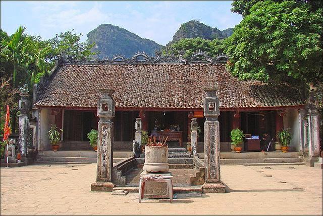 đền thờ đinh tiên hoàng cố đô hoa lư
