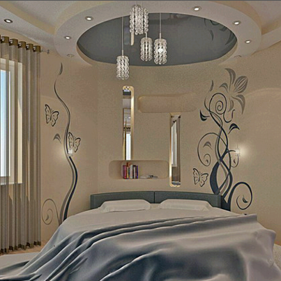 غرف نوم2013 -  لمسة رومانسية مع الوان غرف نوم 2013