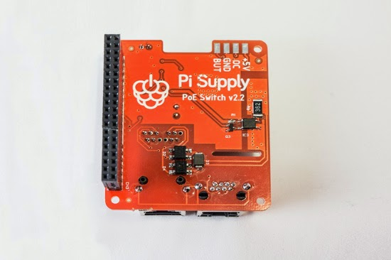 Pi PoE Switch HAT raspberry pi