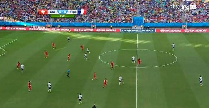 ملخص مباراة  فرنسا 5 - 2 سويسرا