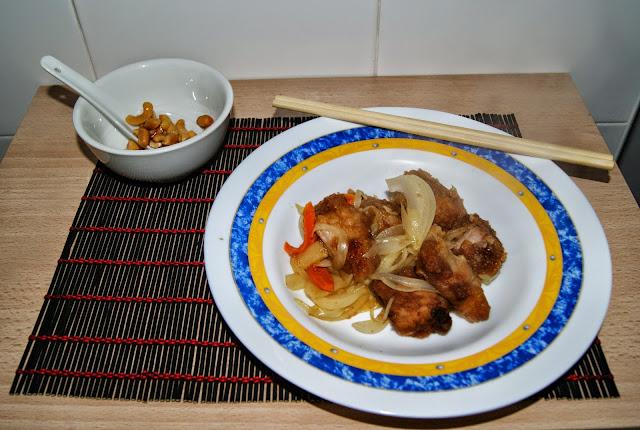 receta de cerdo agridulce