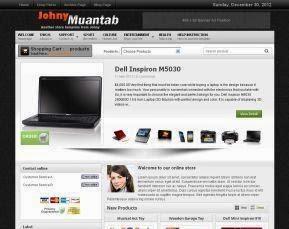 Download Template Toko Online Dengan Cart Belanja
