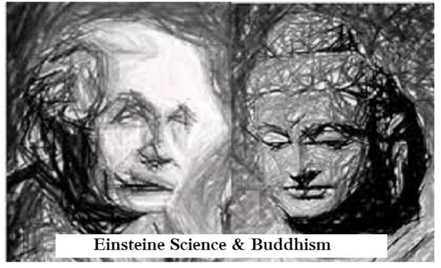 einstein on buddhism and scince