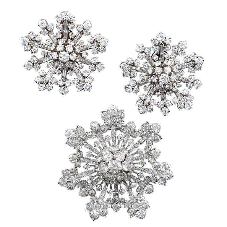 VAN CLEEF ARPELS Diamond Snow