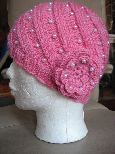 knitting models: ladies knitted hat patterns 2012