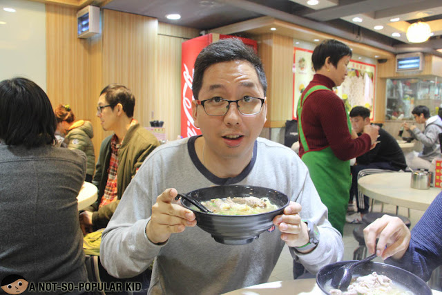 Renz Cheng in Mong Kok, Hong Kong