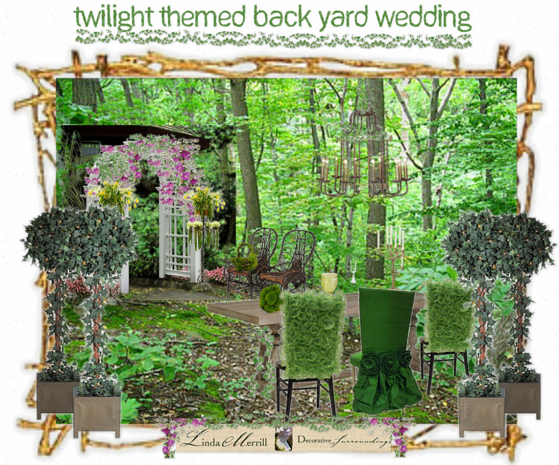Twilight Wedding Decorations