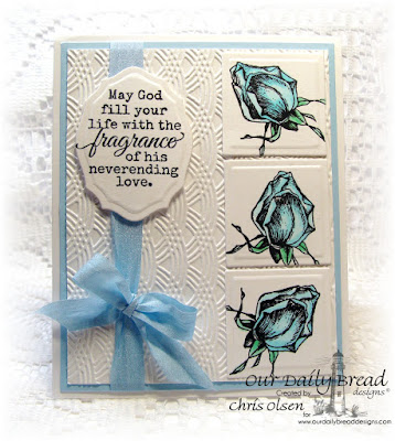 Our Daily Bread Designs Stamp sets: Fragrance, Blossom, Our Daily Bread Designs Custom Dies: Elegant Oval