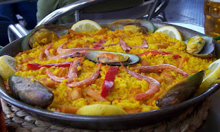 Travel around Spain - Paella