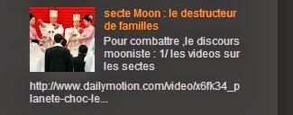 secte Moon : le destructeur de familles