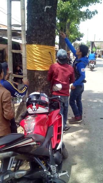 R15 Bandung dan Rancaekek Community Menggelar Acara Cabut Paku