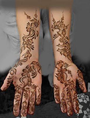 Hand Mehndi Designs 2012