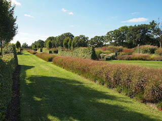 Sussex Prairies Garden. Amazing flowers and good example of garden design. Garden Layout