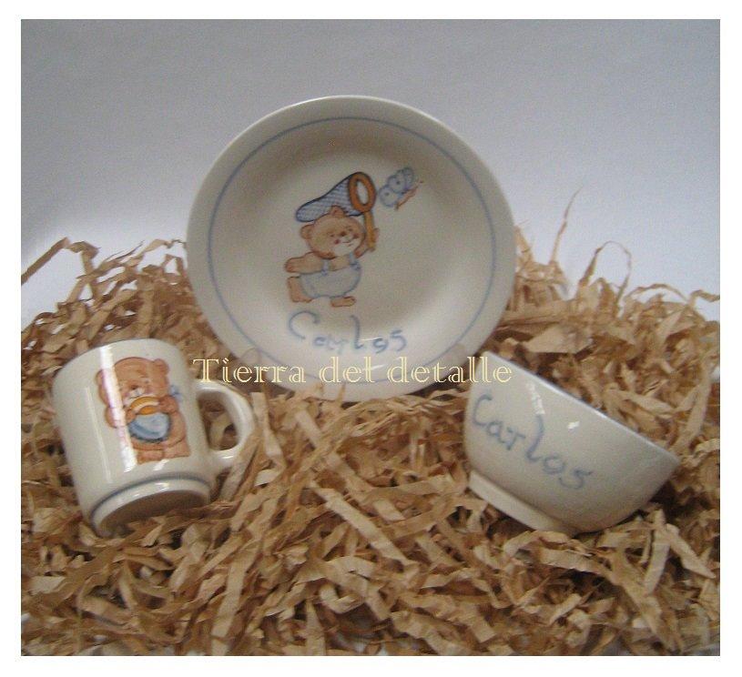 Tierra del detalle vajilla de cer mica artesanal - Vajilla ceramica artesanal ...