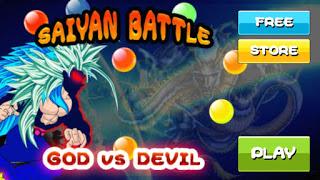 Saiyan Battle of Goku Devil Mod Unlimited Coins New Version