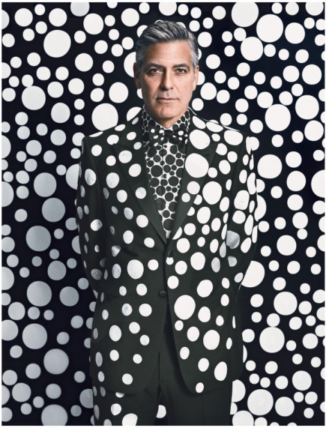 George Clooney by Emma Summerton for W Magazine 2013