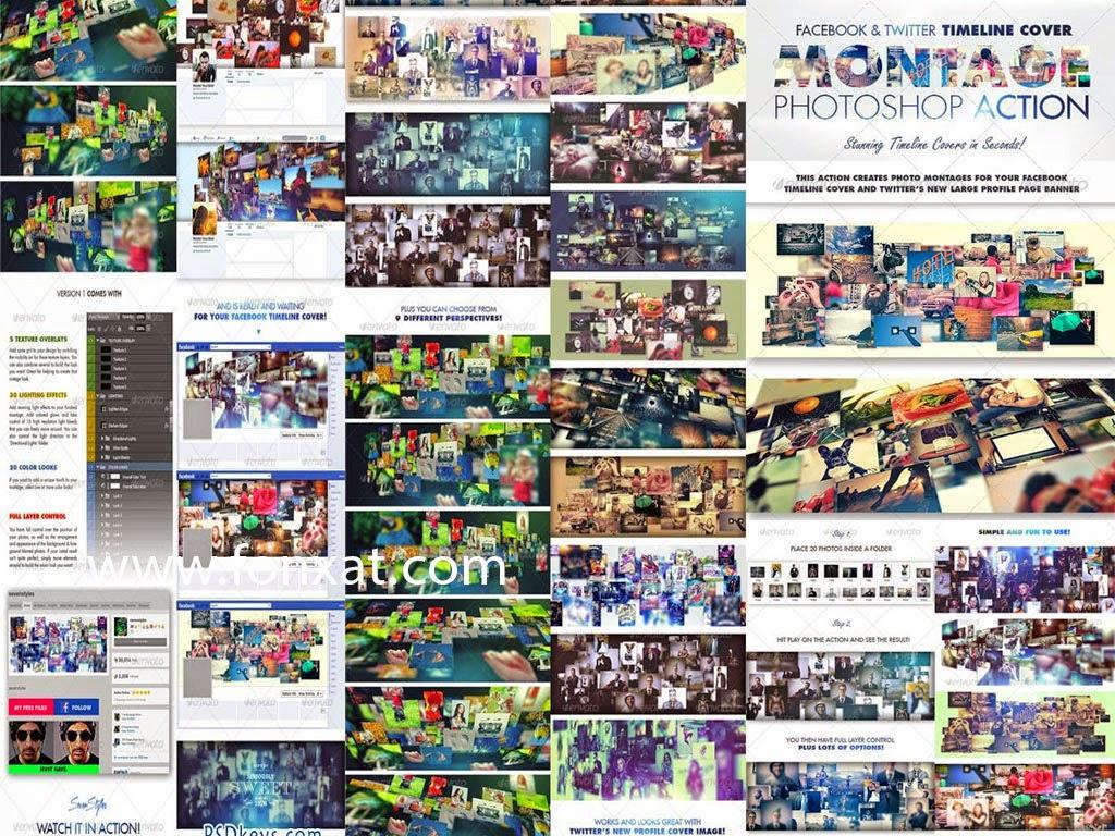 اكثر من 500 غلاف فيس بوك احترافى مفتوح المصدر cover facebook PSD