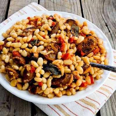 ... Cooker Italian Sausage and White Beans with Sage from Kalyn's Kitchen