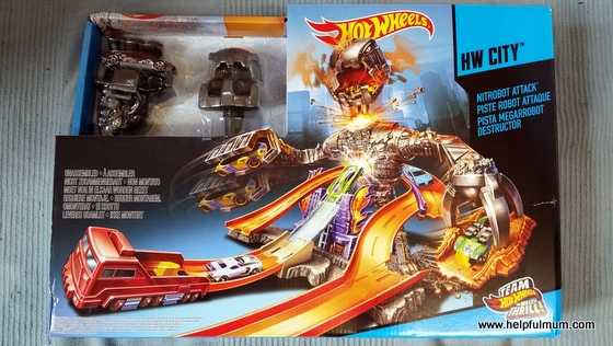 Hot Wheels Nitrobot Attack