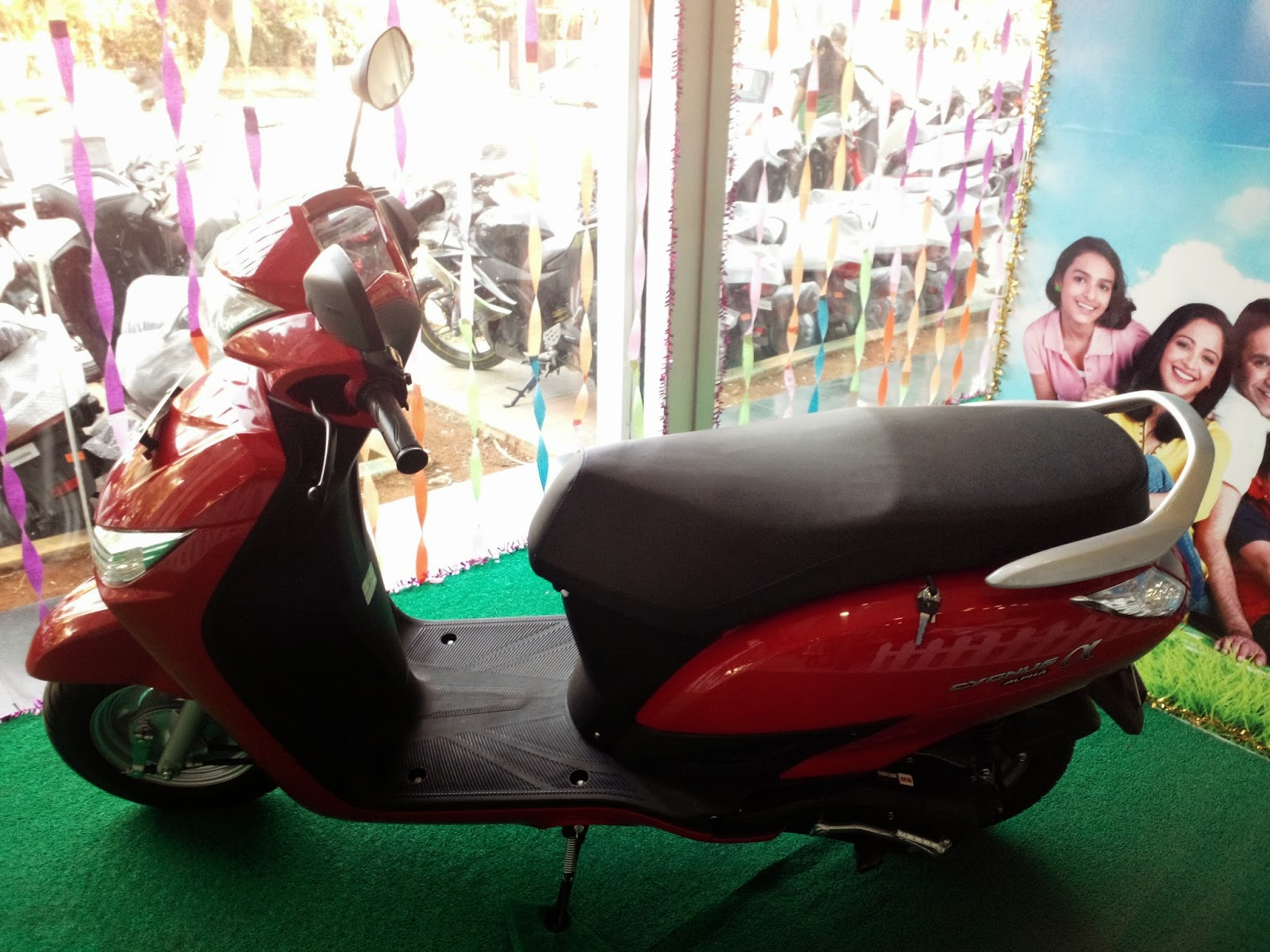 Yamaha Alpha Red