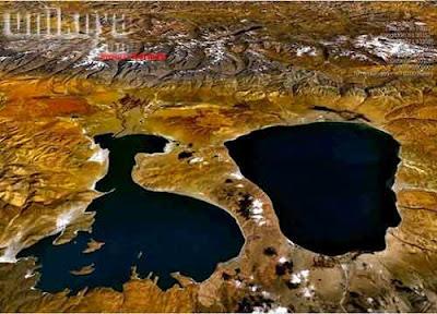 Danau Rakshastal, Tibet