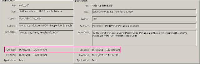Add a description to Document Properties
